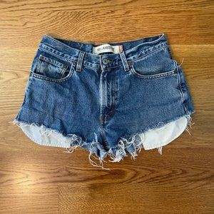 Levi's 550 Relaxed Fit High Waist Cut Off Shorts